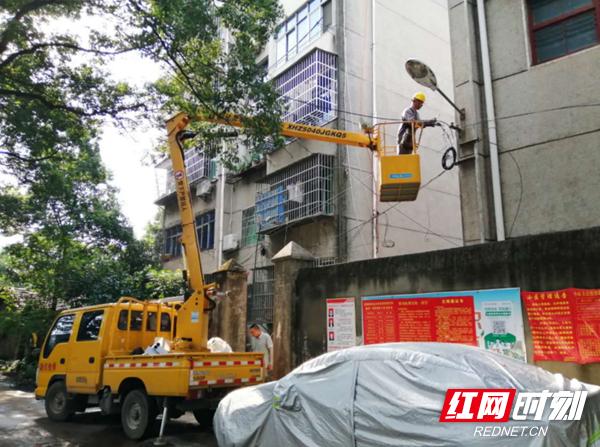 修缮基础设施 提升居民幸福感_乡街新闻_岳阳楼