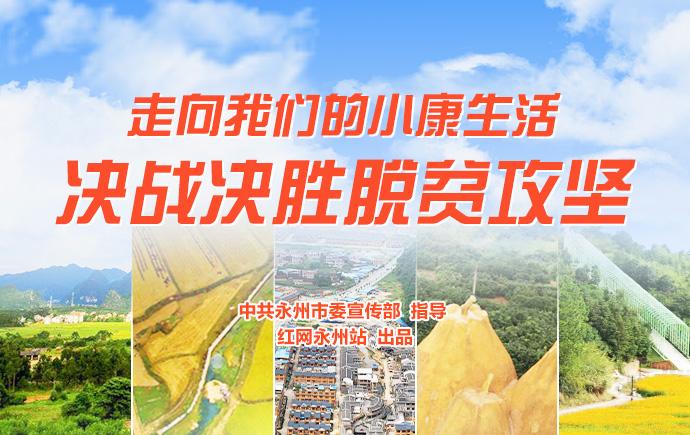 专题丨永州:走向我们的小康生活 决战决胜脱贫攻坚