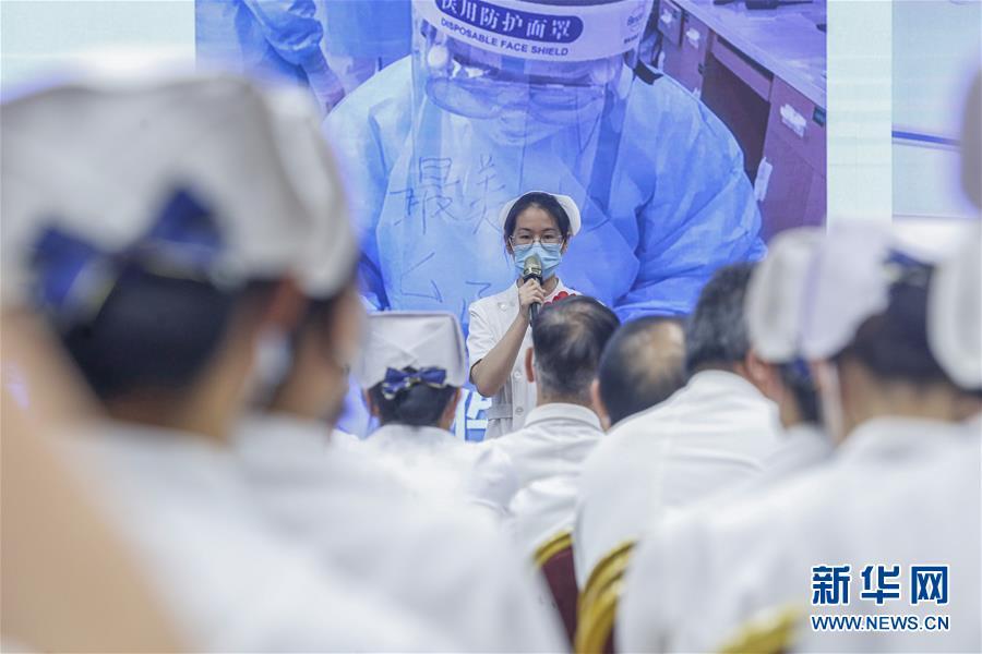 (抗疫一线医务人员英雄群体·图文互动)(4)你的名字,我们的希望——记国家援鄂抗疫医疗队