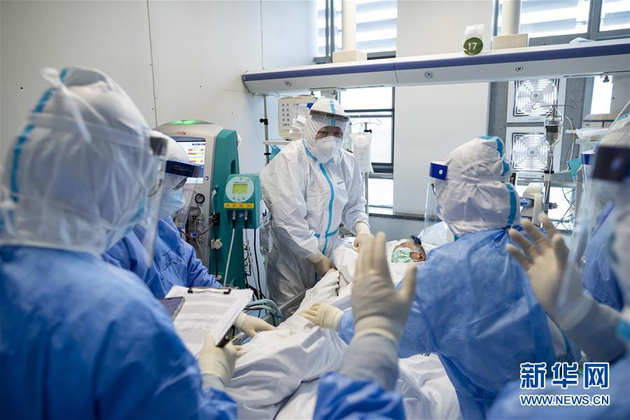 (抗疫一线医务人员英雄群体·图文互动)(2)你的名字,我们的希望——记国家援鄂抗疫医疗队