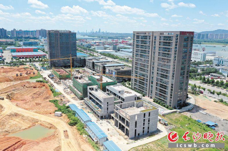 湖南跨境电商生态产业基地二期。