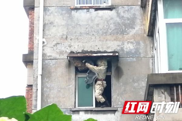消除蜂窝隐患 收获居民称赞_乡街新闻_岳阳楼站