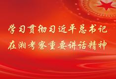 学习贯彻习近平总书记在湘考察重要讲话精神