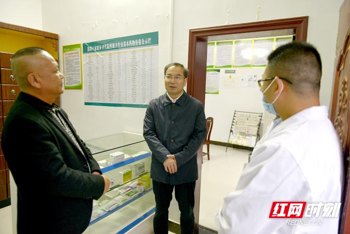刘革安深入永定区和慈利县调研乡村大发麻将和卫生工作