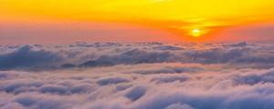 八面山早上四五点钟的太阳,是你想象不到的