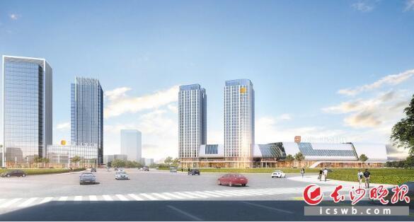 长沙汽车南站打造具有商业商务功能的新型综合性交通枢纽