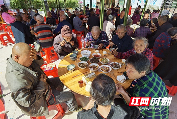新田县青龙村:孝老敬老成风尚 凝聚人心促发展