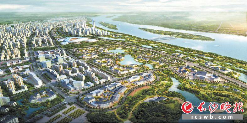 """望城按照""""宜居、生态、智慧""""的发展定位推进大泽湖片区建设,目前润和总部、永通总部已经入驻大泽湖片区。"""