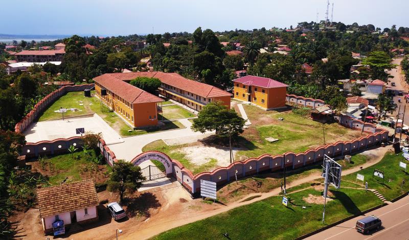 恩德培 长沙示范学校修缮工程竣工。 资料图片