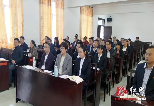 共创民族团结进步:县委党校将民族团结进步创建列为干部培训内容1.png