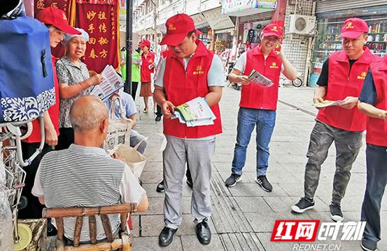 """【文明实践在醴陵】立足""""为民爱民"""" 多领域开展志愿服务"""