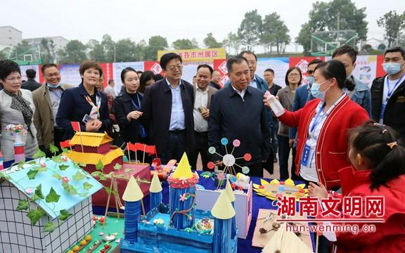 湖南建成乡村学校少年宫2042所 实现全覆盖