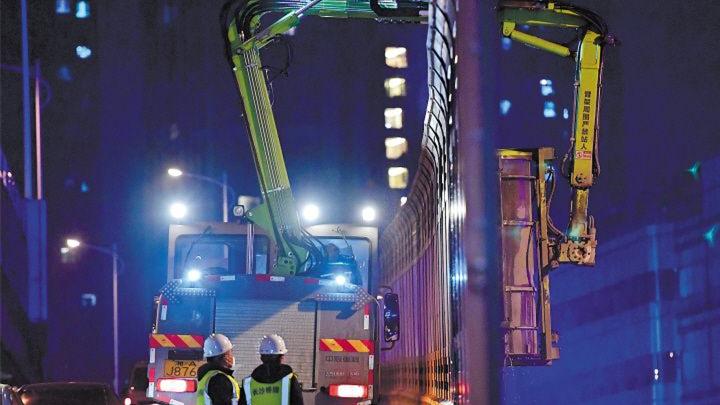 """长沙桥梁隧道养护进入机械化阶段,确保城区桥隧""""颜值""""在线"""