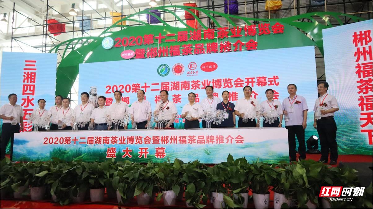 """6、2020第十二届湖南茶业博览会展销量再创新高,""""郴州福茶""""闪亮登场.jpg"""