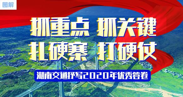 图解:抓重点 抓关键 扎硬寨 打硬仗 湖南交通抒写2020年优秀答卷