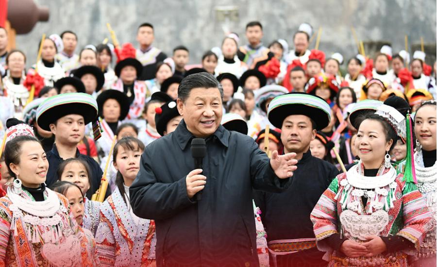 独家视频丨习近平向全国各族人民致以新春祝福