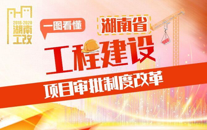 专题丨一图看懂湖南省工程建设审批制度改革