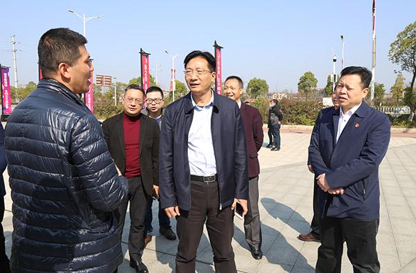 刘桢干调研重点项目开工建设情况