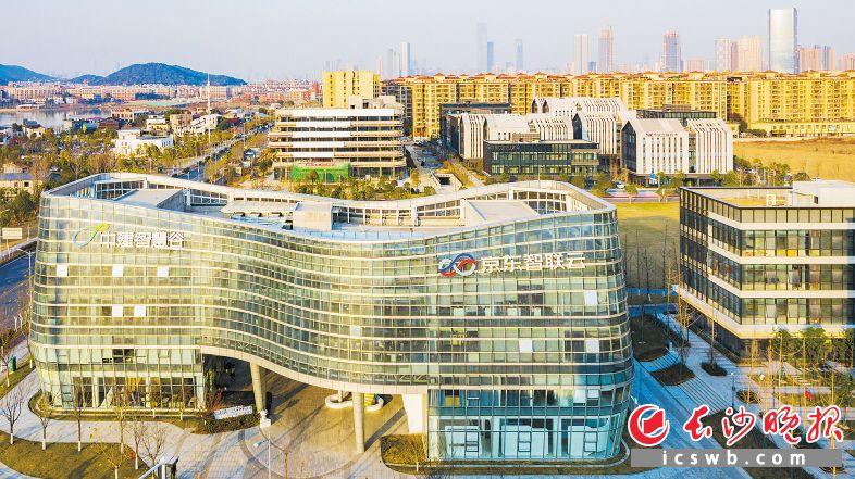 """长沙将突出""""两山""""建设,岳麓山大学科技城将打造具有国际影响力的科技成果转移转化示范高地。长沙晚报全媒体记者 邹麟 摄"""