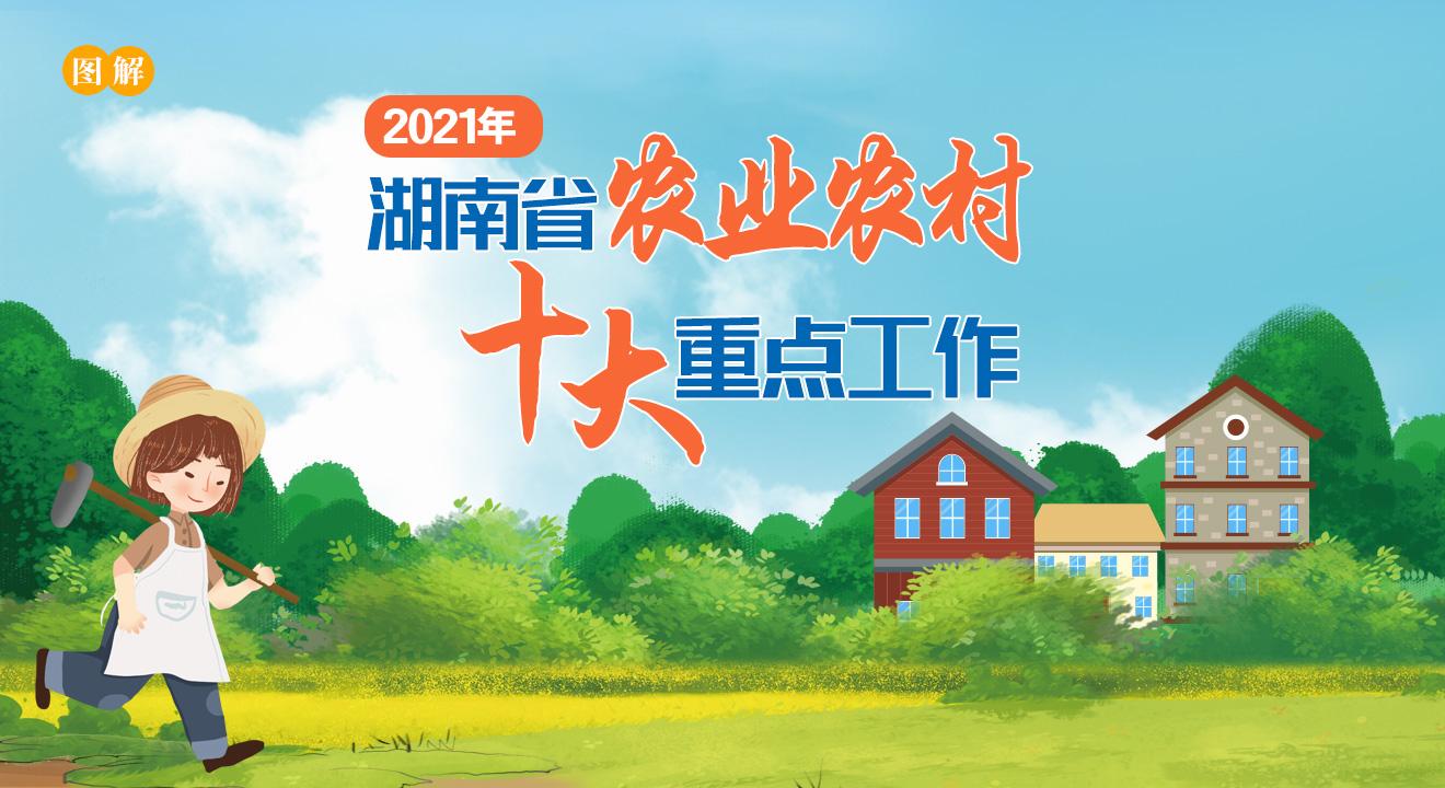 图解   2021年湖南省农业农村十大重点工作