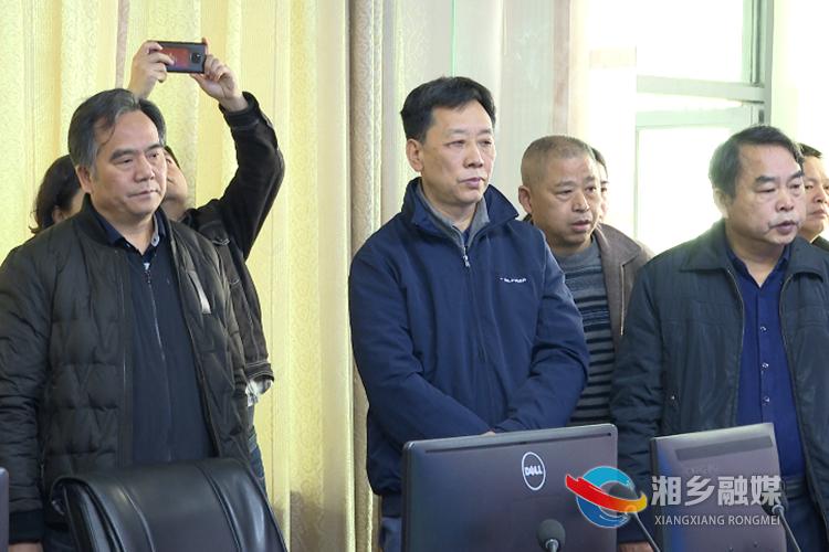 调研组在韶山灌区工程管理局调研。.png