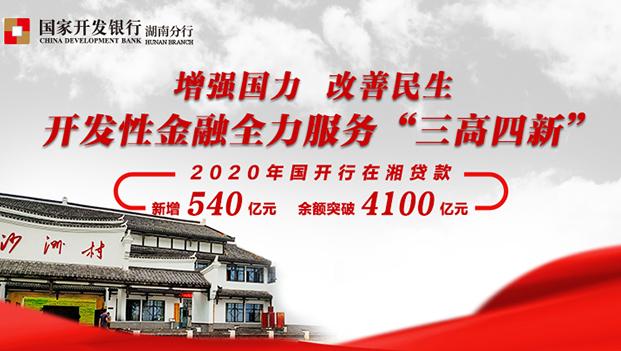 """长图丨全力服务""""六稳""""""""六保"""" 国家开发银行湖南省分行交出2020年亮丽""""答卷"""""""
