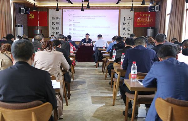 刘桢干到茶山坳镇开展党史学习教育专题宣讲报告会