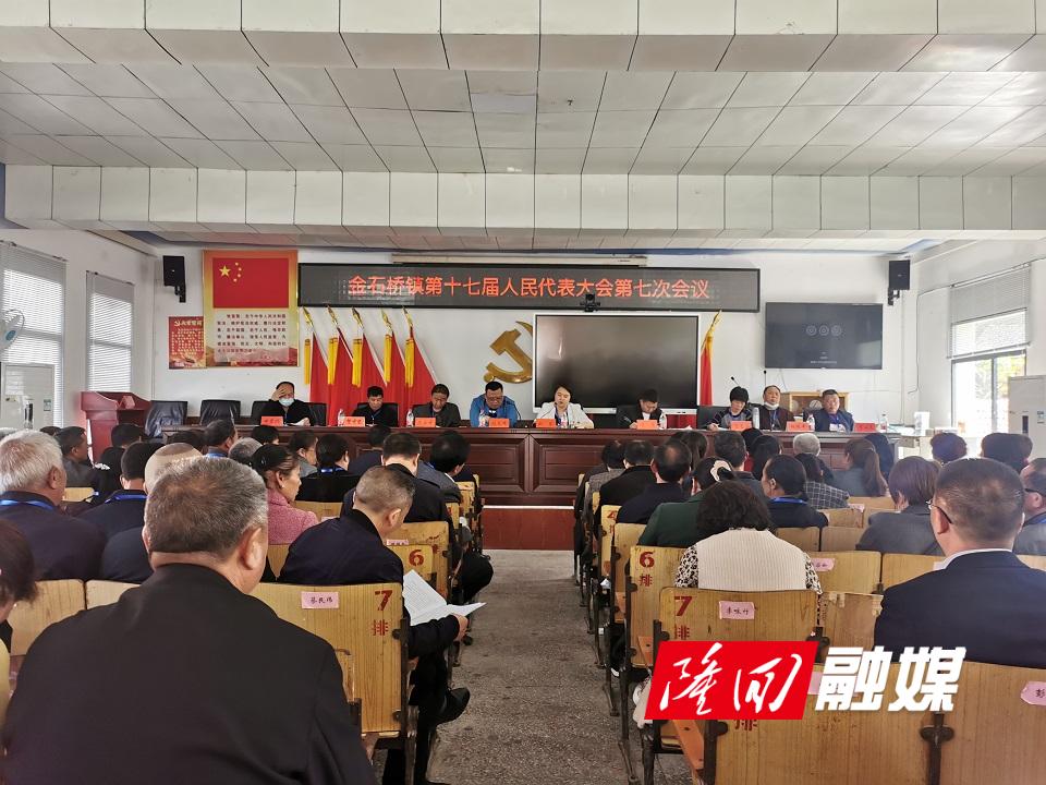 金石桥镇召开第十七届人民代表大会第七次会议
