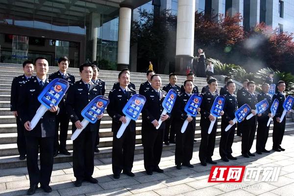视频丨警车上新了!武陵公安分局举行警务用车发放仪式