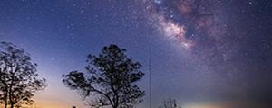 在荒野看到长沙最美星空