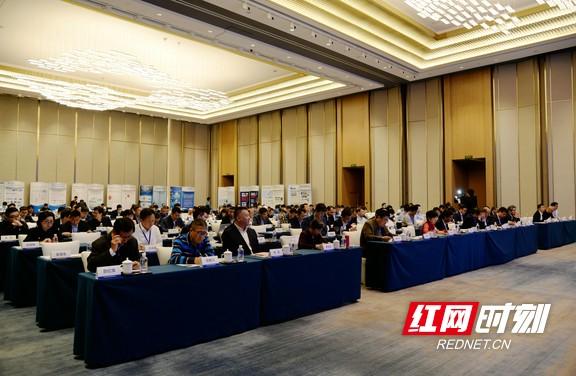5月20日,2021中国功率半导体联盟第五届发展战略研讨会在长沙高新区盛装启幕。朱莉 摄.marked.jpg
