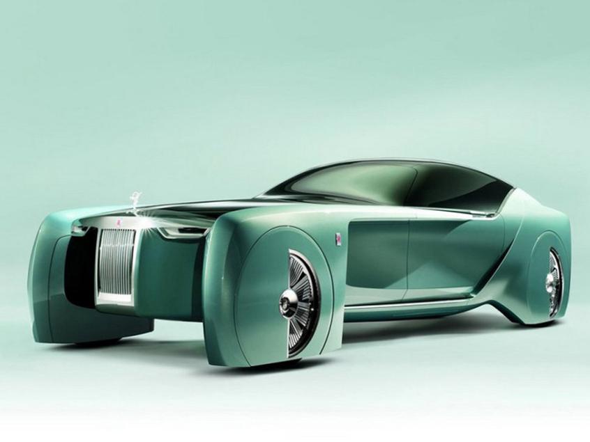 劳斯莱斯Vision Next 100概念车