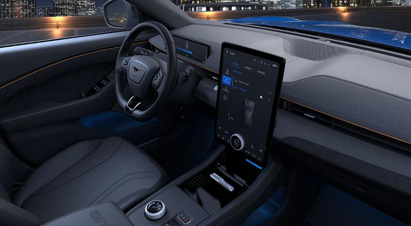 国产Mustang Mach-E官图 将4月正式发布