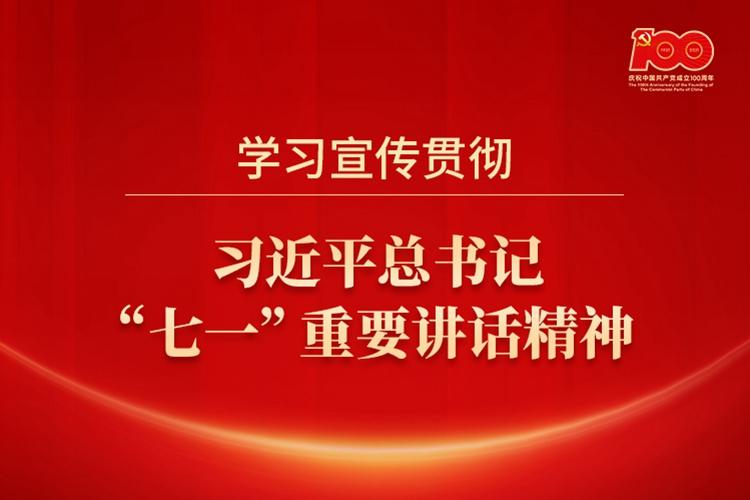 """学习宣传贯彻习近平总书记""""七一""""重要讲话精神"""