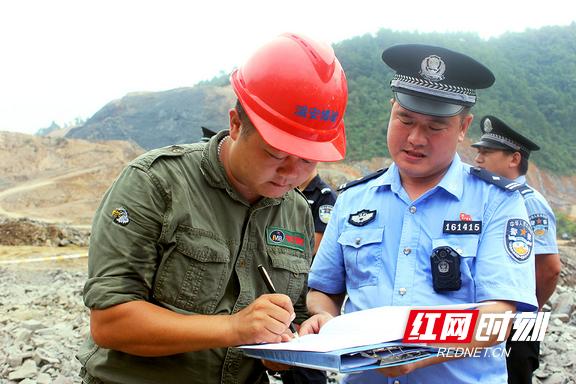 湘西州公安局走访企业问需求 优化服务促发展