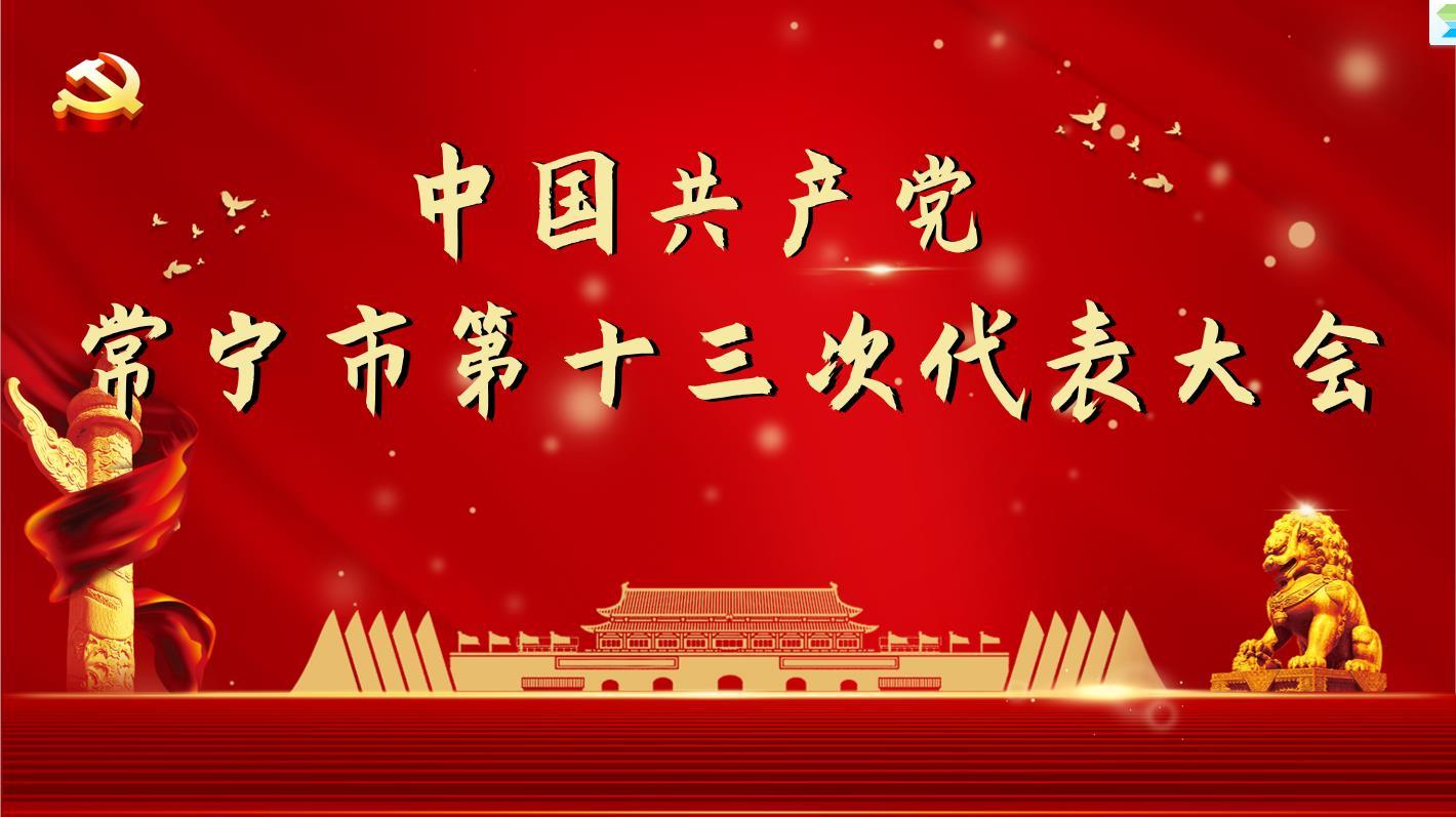 中國共產黨常寧市第十三次代表大會