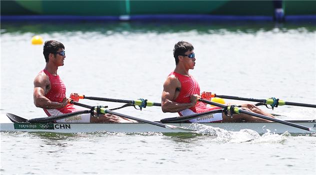 """创历史!东京奥运会赛艇男子双人双桨""""亮宇""""组合摘铜"""