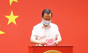長沙市(shi)舉行(xing)縣市(shi)區人大代表換屆選舉