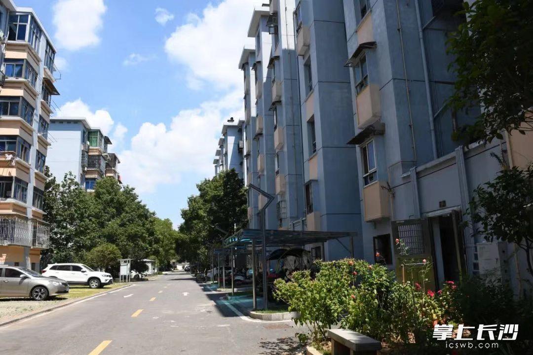 改造后的望城区湘陵小区