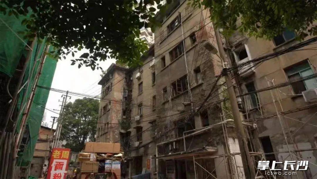 上宜园8号危旧房屋项目改造前