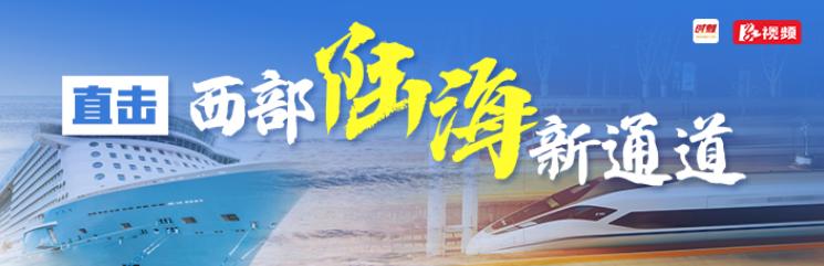 """直击""""西部陆海新通道"""""""
