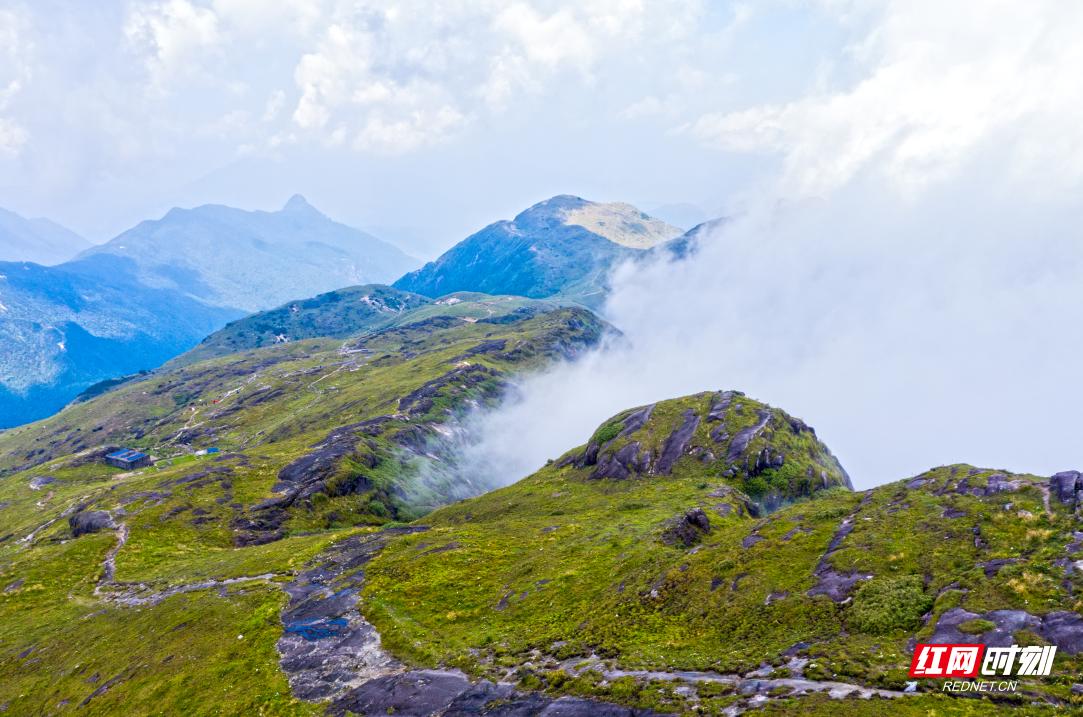 湖南最高的五座山峰在这 请收藏在手机里