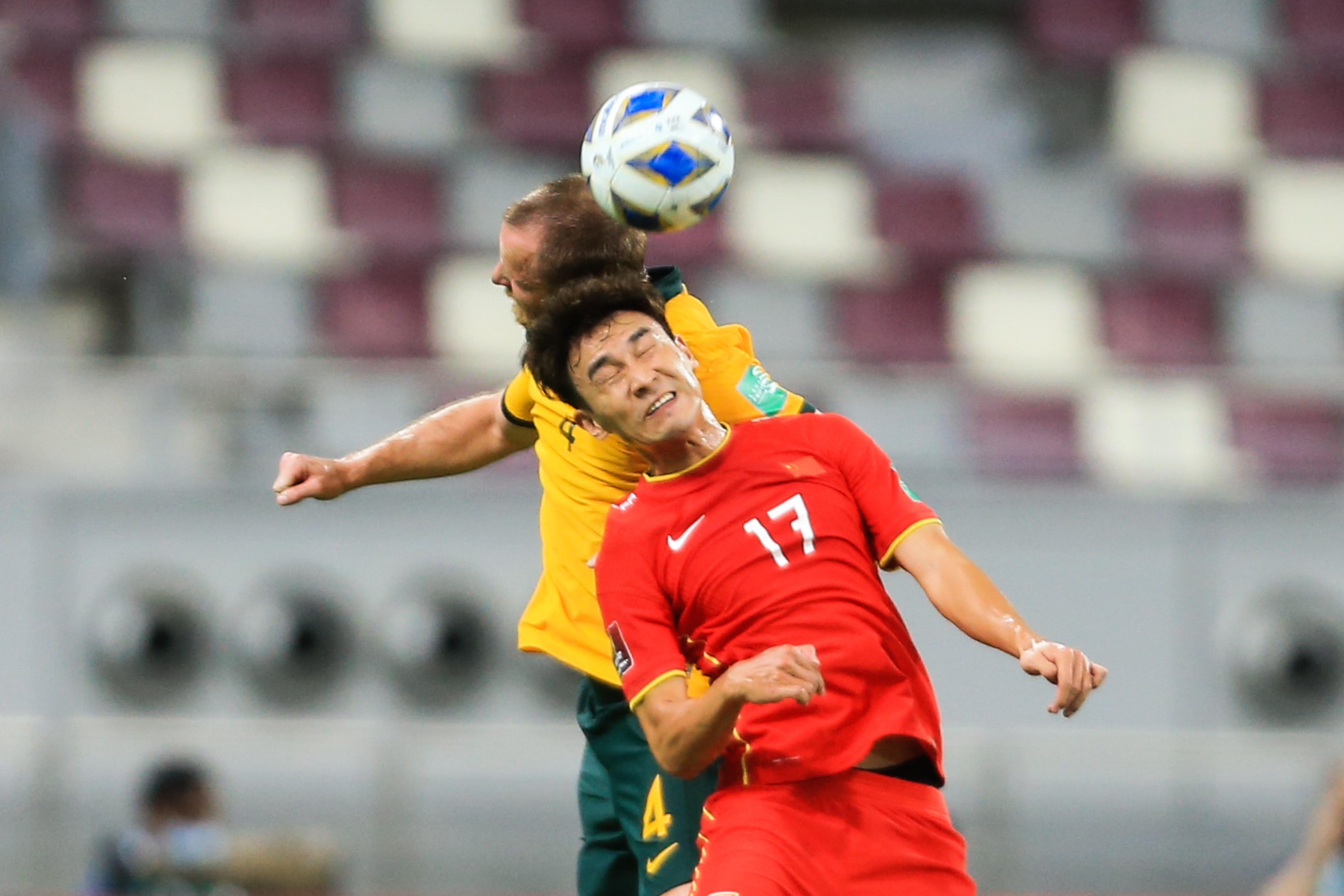 国足0-3不敌澳大利亚。