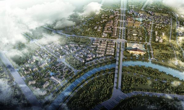 总投资50亿元!都梁文化旅游休闲特色小镇在武冈正式开工
