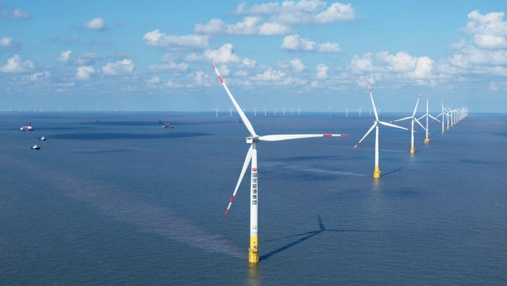 赢咖3娱乐平台全国首个中外合资海上风电项目落地揭牌